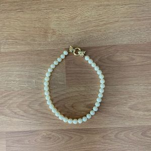 GIVENCHY Pearl Strand with Panther Head Clasp